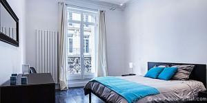 Chambre d'un appartement 3 chambres dans le 8ème arrondissement de Paris