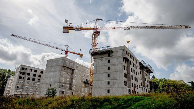 France hausse de la construction de logement neuf for Construction de logements neufs